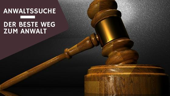 Anwaltssuche - Der beste Weg zum Anwalt